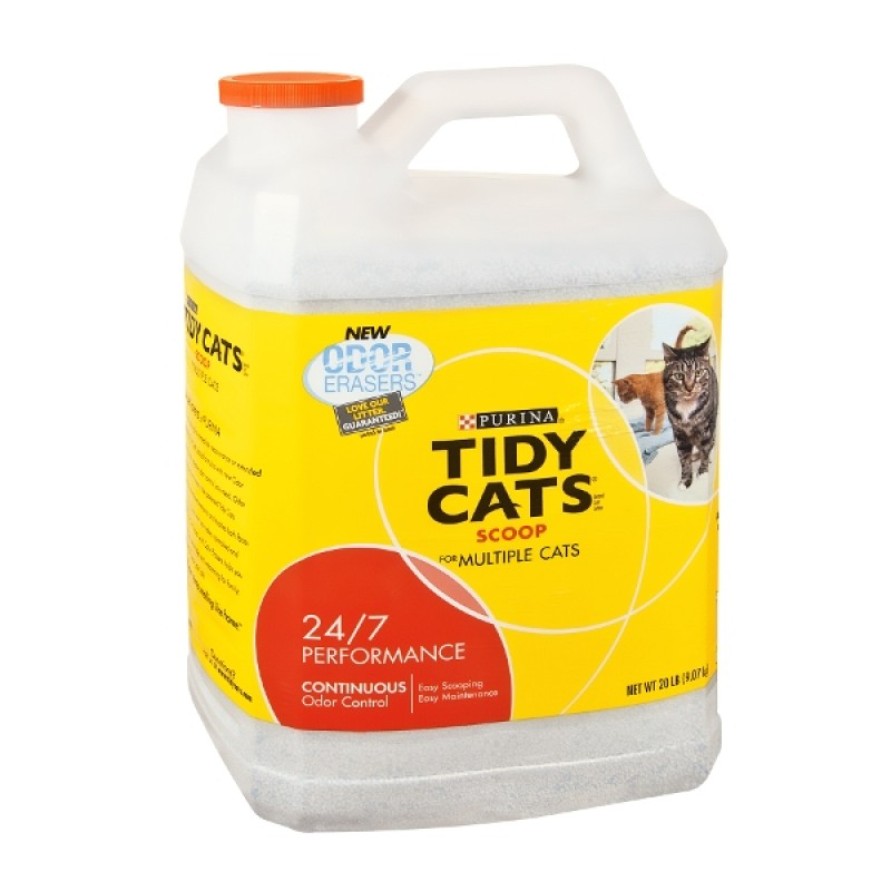 One (1) Box - Purina Tidy Cats Starter Kit Cat Litter Box Purina Tidy Cats Direct Disposable Cat Litter Box with LightWeight 24/7 Performance Clumping Cat Litter - lb. Box by Purina Tidy Cats.