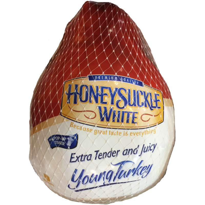 Honeysuckle White Whole Frozen Young Turkey 17 19 Lbs Prestofresh Grocery Delivery