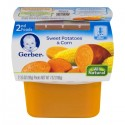 Gerber Baby Food - 2nd Foods - Sweet Potatoes & Corn - 2 CT / 7 OZ
