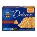 Kraft Macaroni & Cheese Dinner - Deluxe - Sharp Cheddar 14 OZ