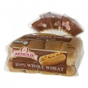 Arnold Select (Brownberry) Whole Grains 100% Whole Wheat Hot Dog Rolls - 8 CT / 16.0 OZ