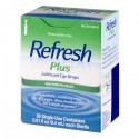 Refresh Plus Lubricant Eye Drops Moisturizing Relief - 30 CT