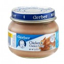 Gerber Baby Food - 2nd Foods - Chicken & Chicken Gravy 2.5 OZ