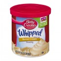 Betty Crocker Frosting - Whipped - Butter Cream 12 OZ