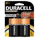 Duracell Alkaline D Batteries 2 CT