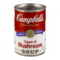 Campbell's Cream of Mushroom Condensed Soup 10.5 OZ