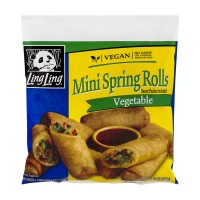 Ling Ling Mini Spring Rolls Vegetable - 11 OZ