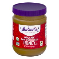 Wholesome! Organic Raw Unfiltered Honey - 16.0 OZ