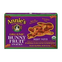 Annie's Homegrown Organic Bunny Berry Patch Fruit Snacks - 5 CT