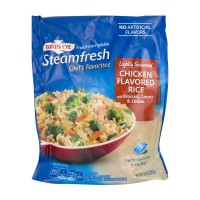 Birds Eye Steamfresh Chefs Favorite Chicken Flavored Rice Lightly Seasoned - 10.0 OZ