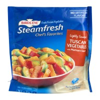 Birds Eye Steamfresh Chef's Favorites Tuscan Vegetables with Marinara Sauce Lightly Sauced - 10.0 OZ