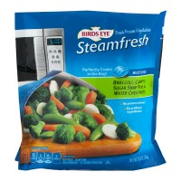 Birds Eye Steamfresh Broccoli, Carrots, Sugar Snap Peas And Water Chestnuts - 10.8 OZ