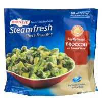Birds Eye Steamfresh Chef's Favorites Broccoli with Cheese Sauce Lightly Sauced - 10.8 OZ