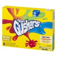 Betty Crocker® Gushers Variety Pack of Tropical Flavors and Strawberry Splash 6-0.9 oz. Pouches