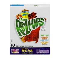 Fruit Roll-Ups Fruit Flavored Snacks - Variety Pack - 10 CT