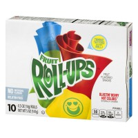 Betty Crocker® Fruit Roll-Ups Blastin' Berry Hot Colors 10 - 0.5 oz Rolls