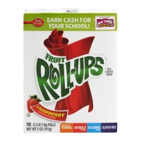 Betty Crocker Fruit Roll-Ups Strawberry - 10 CT