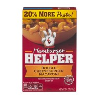 Hamburger Helper Double Cheeseburger Macaroni - 6.0 OZ