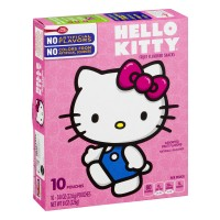 Betty Crocker Fruit Snacks, Hello Kitty Snacks, 10 Pouches, 0.8 oz Each