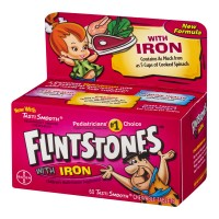 Flinstones With Iron Children's Multivitamin Supplement - 60 CT