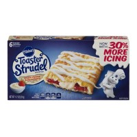 Pillsbury Toaster Strudel Pastries - Cream Cheese And Strawberry - 6 CT / 11.7 OZ
