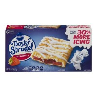 Pillsbury Toaster Strudel Pastries Strawberry - 6 CT / 11.7 OZ