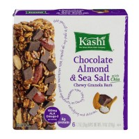 Kashi Chewy Granola Bars Chocolate Almond & Sea Salt (with Chia) - 6 CT