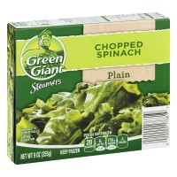 Green Giant Steamers Chopped Spinach Plain - 9.0 OZ