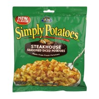Simply Potatoes Steakhouse Seasoned Diced Potatoes 20 OZ