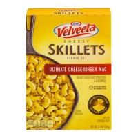 Kraft Velveeta Cheesy Skillets Dinner Kit Ultimate Cheeseburger Mac 12.8 OZ