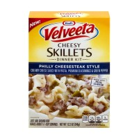 Kraft Velveeta Cheesy Skillets Dinner Kit - Philly Cheesesteak Style 12.2 OZ
