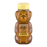 Gunter's Pure Clover Honey (Bear Bottle) - 12 OZ