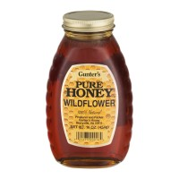 Gunter's Pure Wildflower Honey 16 OZ