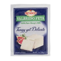 President Valbreso Feta - 100% Pure Sheep's Milk 7 OZ