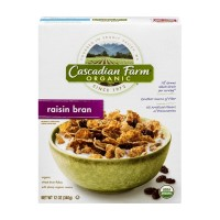 Cascadian Farm Organic Raisin Bran Cereal - 12 OZ