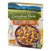 Cascadian Farm Organic Cereal, Fruitful O's, 10.2 oz