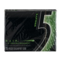 5 Sugarfree Gum - Rain - 15 CT