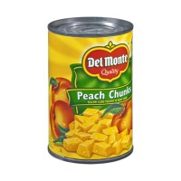 Del Monte Peach Chunks in Heavy Syrup - 15.25 OZ