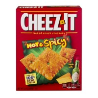 Cheez-It Baked Snack Crackers - Hot And Spicy - 12.4 OZ