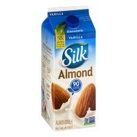 Silk Vanilla Almond Milk - .5 GAL