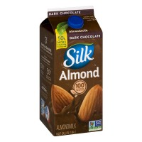 Silk Almond Milk Dark Chocolate - .5 GAL