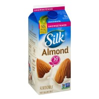 Silk Unsweetened Almond Milk - .5 GAL