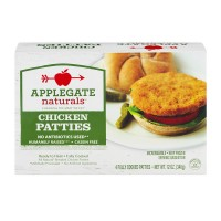 Applegate Naturals Chicken Patties - 4 CT / 12.0 OZ
