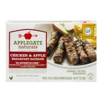 Applegate Naturals Chicken & Apple Breakfast Sausage - 10 CT / 7.0 OZ