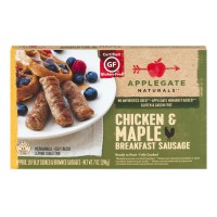 Applegate Naturals Breakfast Sausage Chicken & Maple - 10 CT / 7.0 OZ