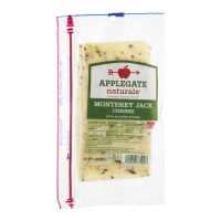 Applegate Naturals Monterey Jack Cheese with Jalapeno Peppers - 8.0 OZ