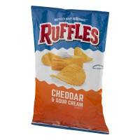 Ruffles Potato Chips Cheddar And Sour Cream - 8.5 OZ
