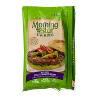 Morning Star Farms Burgers Spicy Black Bean - 4 CT / 9.5 OZ