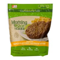 Morning Star Farms Breakfast Sausage Patties Maple Flavored - 6 CT / 8.0 OZ