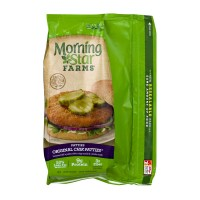 Morning Star Farms Chik Patties Original - 4 CT / 10.0 OZ